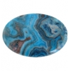 Blue Crazy Lace Agate 30x40mm Oval 4Pcs Approx